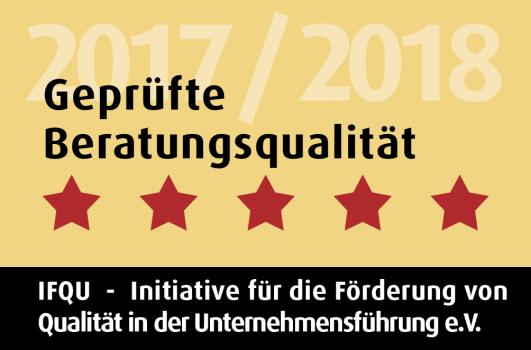 Guetesiegel - Gepruefte Beratungsqualitaet 2016
